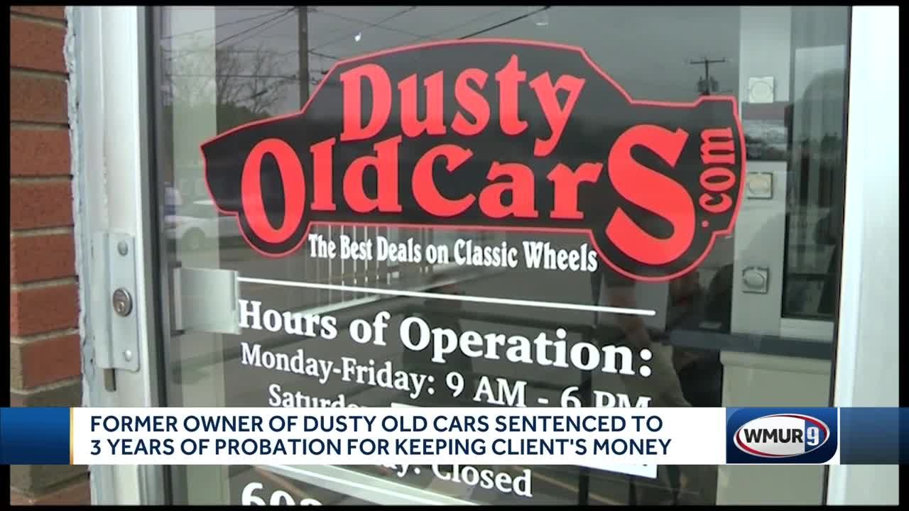 Judge Sentences Former Dusty Old Cars Owner For Keeping Thousands