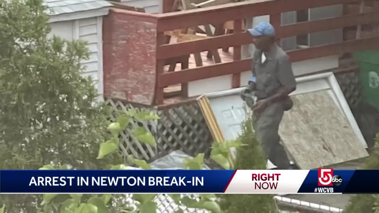 Man accused in Newton burglary