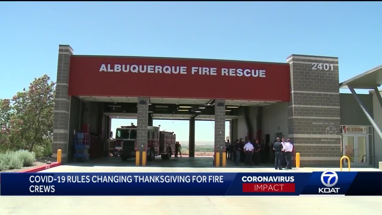 Albuquerque fire rescue celebrates Thanksgiving differently this year