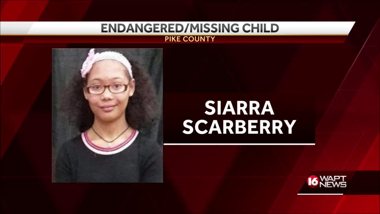 Missing Pike County girl