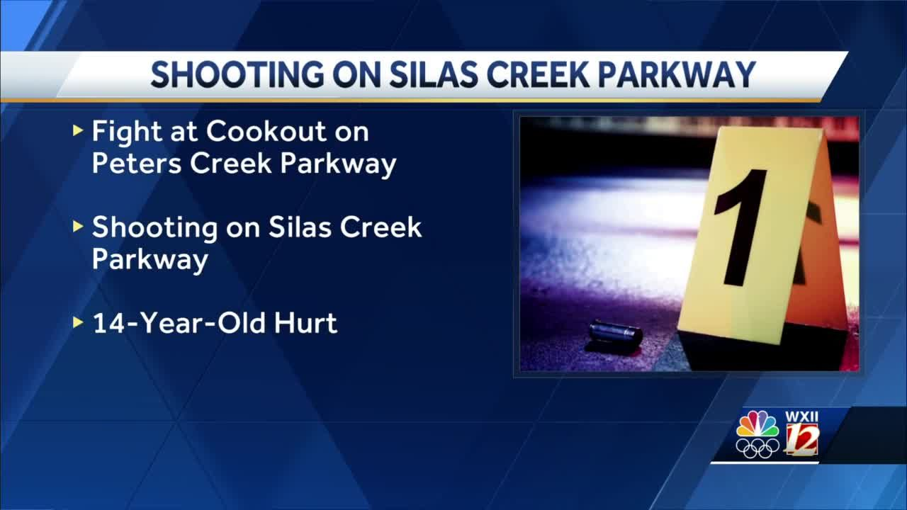 Winston-Salem: 14-year-old boy shot after fight breaks out at Cook Out restaurant, police say