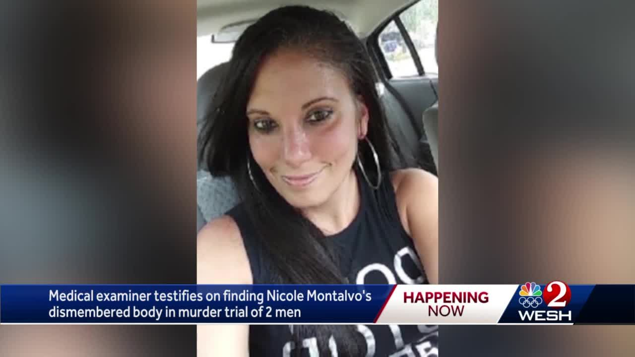 Medical examiner testifies on finding Nicole Montalvo's dismembered body in murder trial