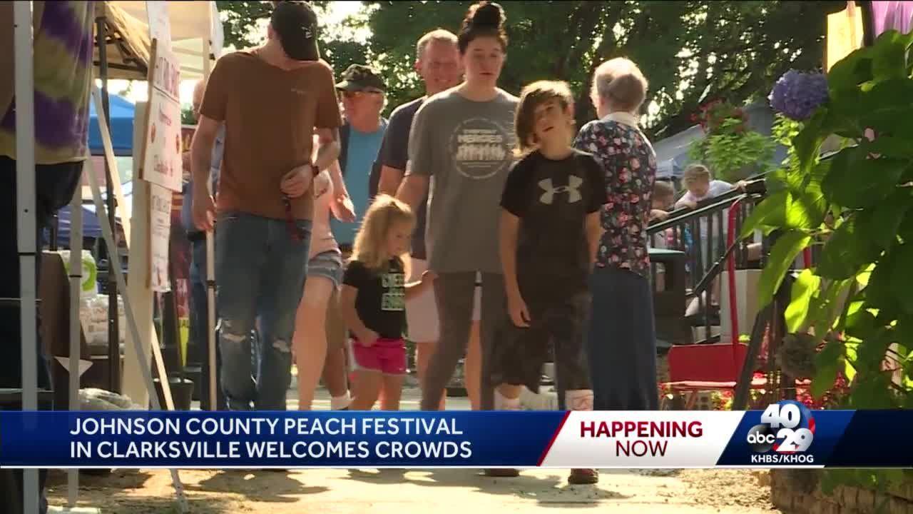 Johnson County celebrates Peach Festival