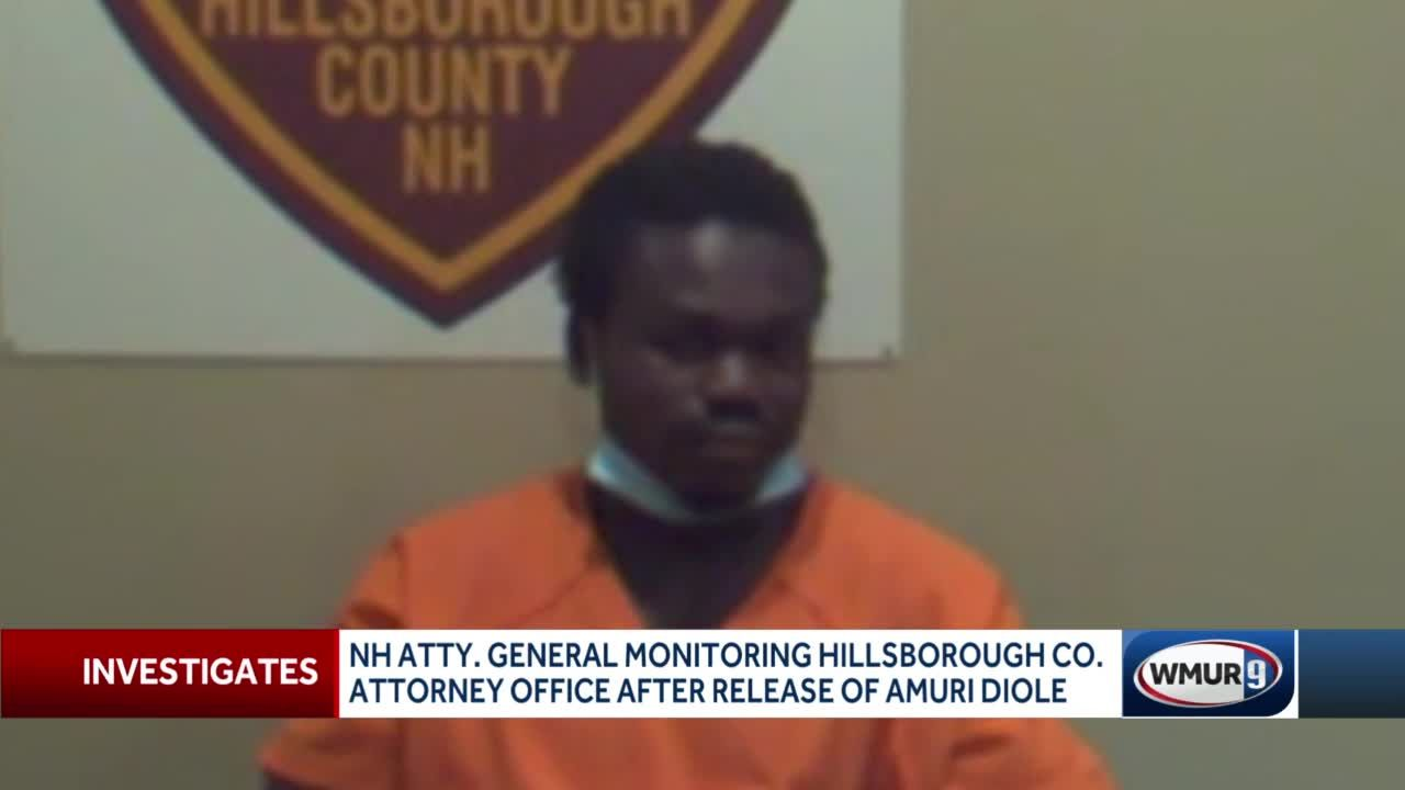 NH AG monitoring county attorney's office after release of Amuri Diole