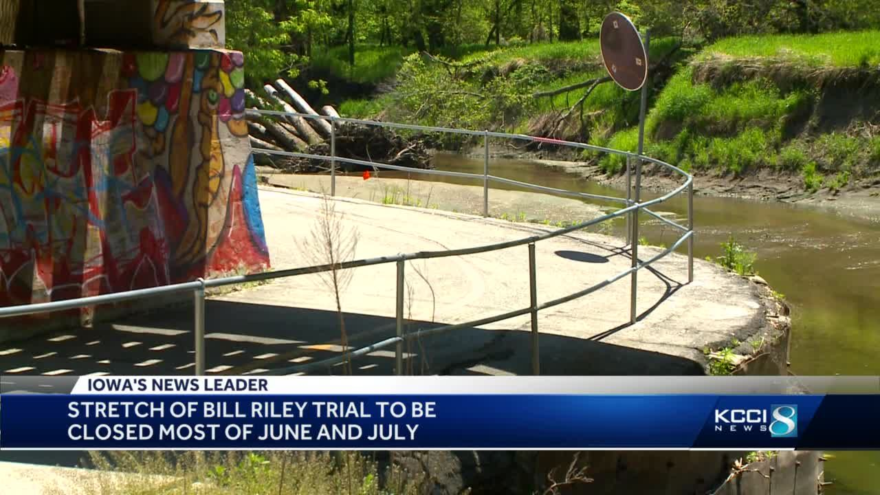 A popular trail is closing for most of the summer