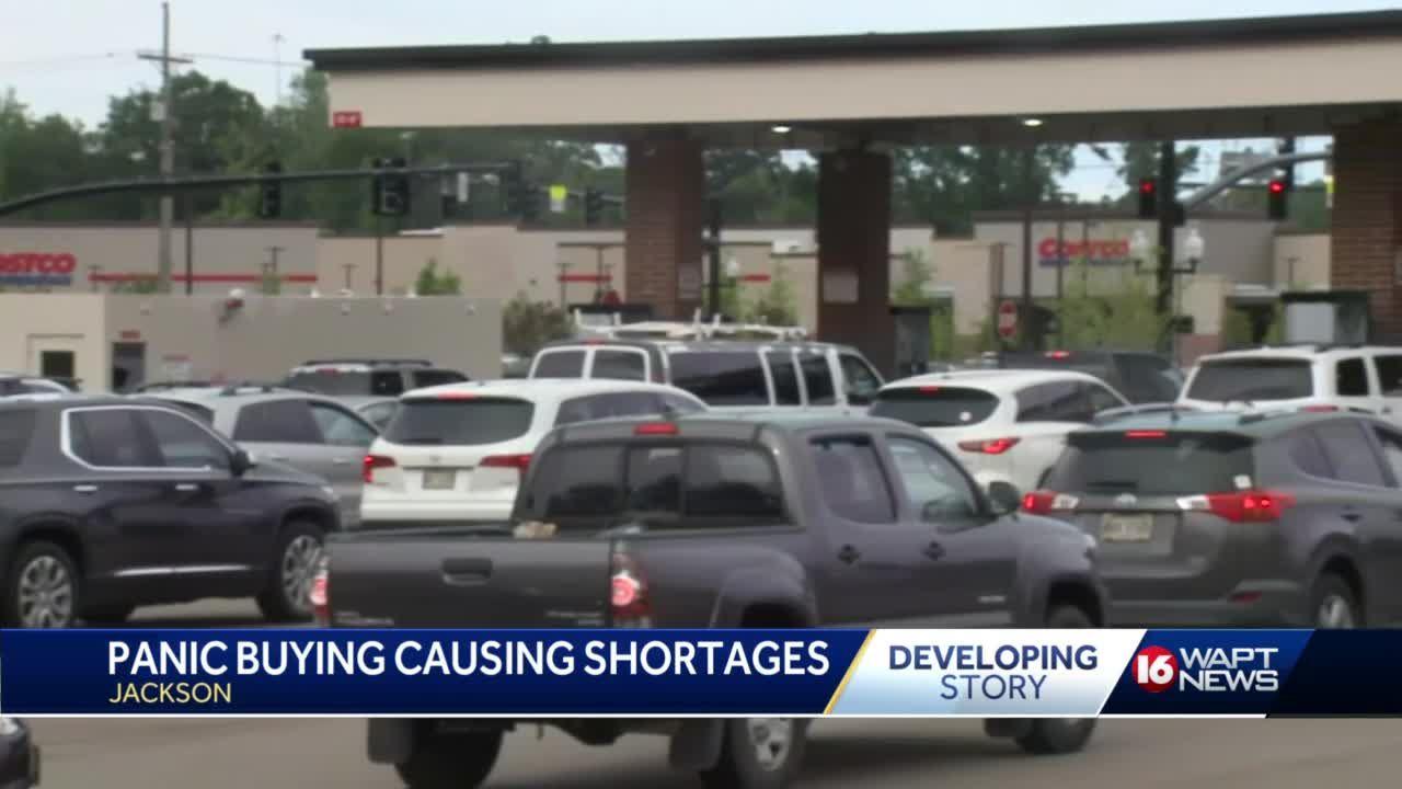 Pipeline shutdown leads to 'panic gas buying'