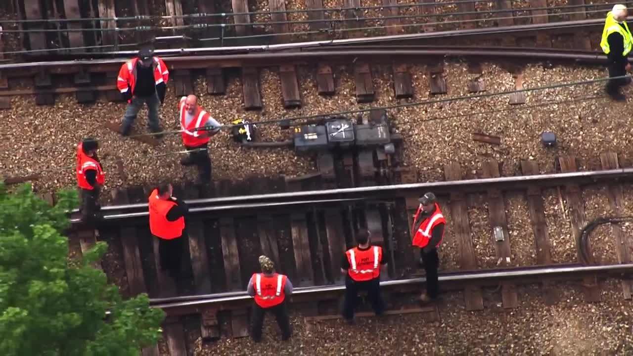 T-vehicle derails