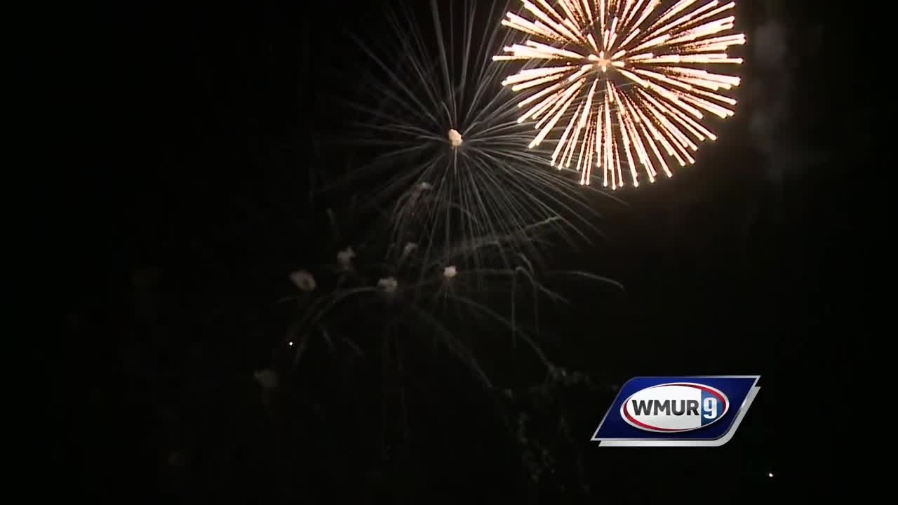 Fireworks cap off busy Fourth of July at Hampton Beach