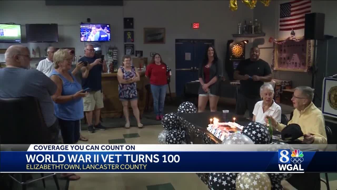 Lancaster County World War II veteran turns 100