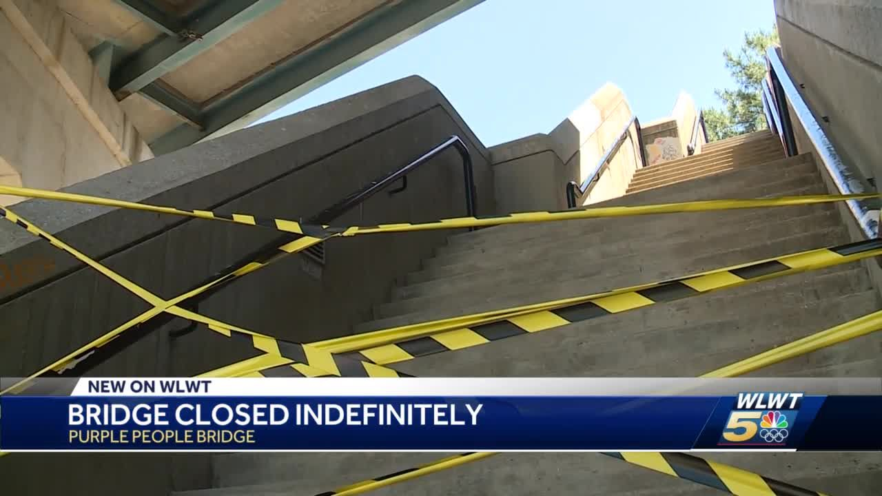 Purple People Bridge remains closed, engineers scheduled to inspect it over the next week