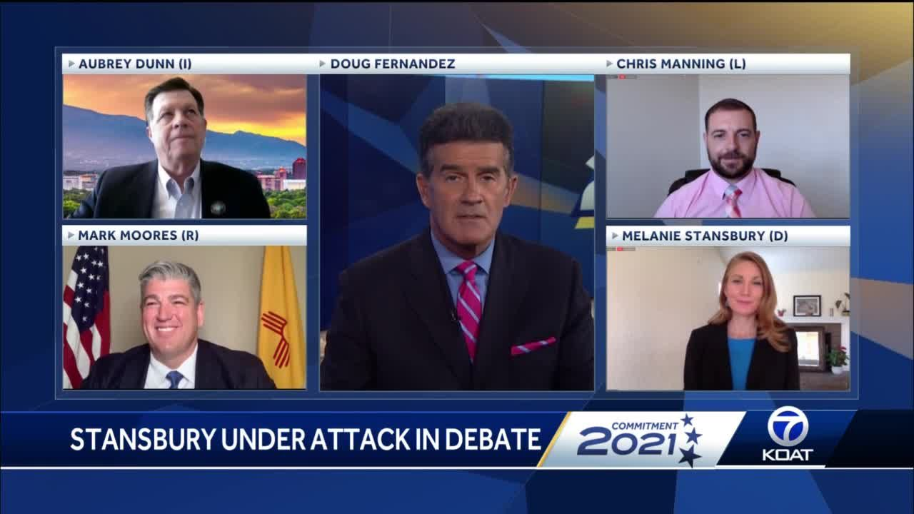 Stansbury attacked from all sides in special election debate