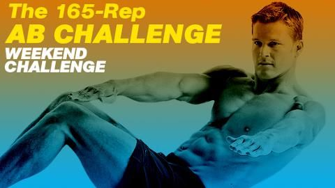 The 165-Rep Ab Challenge