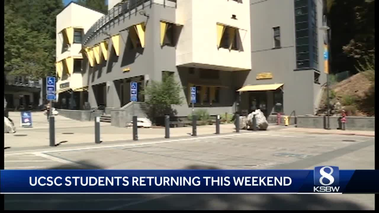 1,000 UCSC students expected to return to campus this weekend