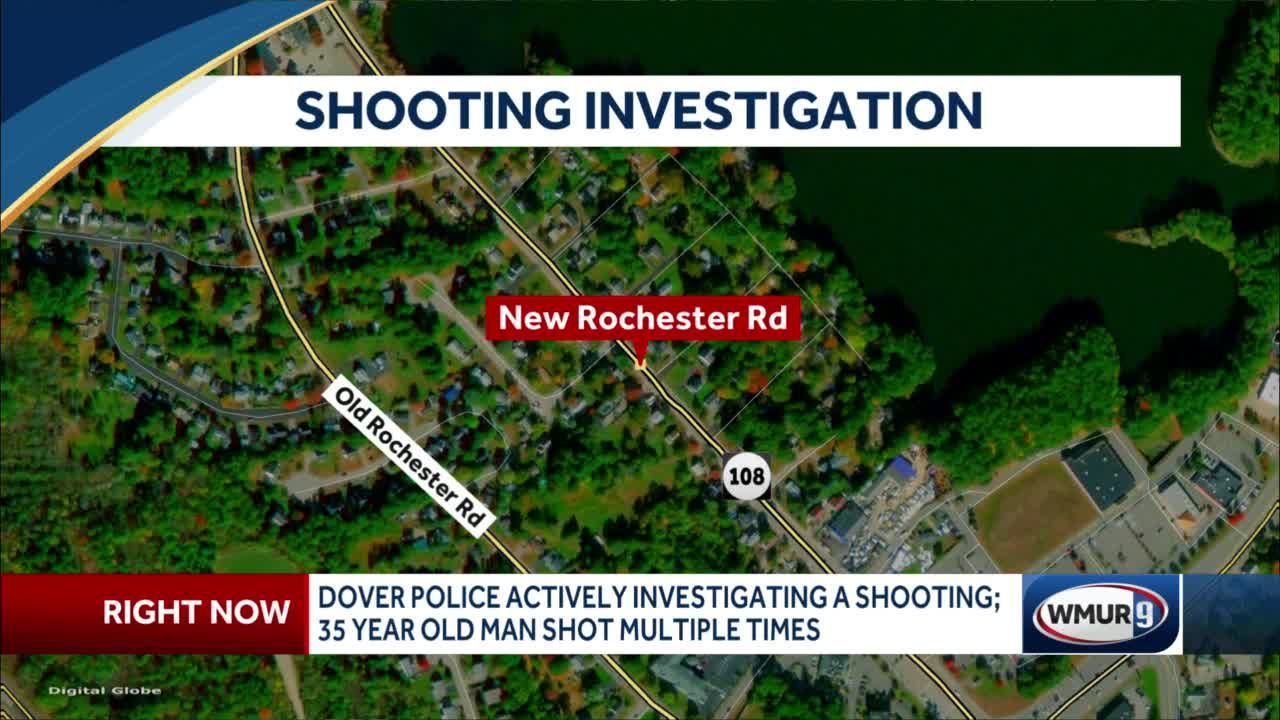 Dover Police actively investigating a shooting