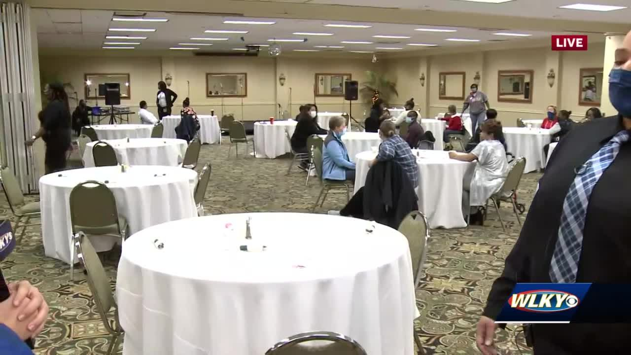Louisville woman gives positive message for people who may be struggling on Thanksgiving