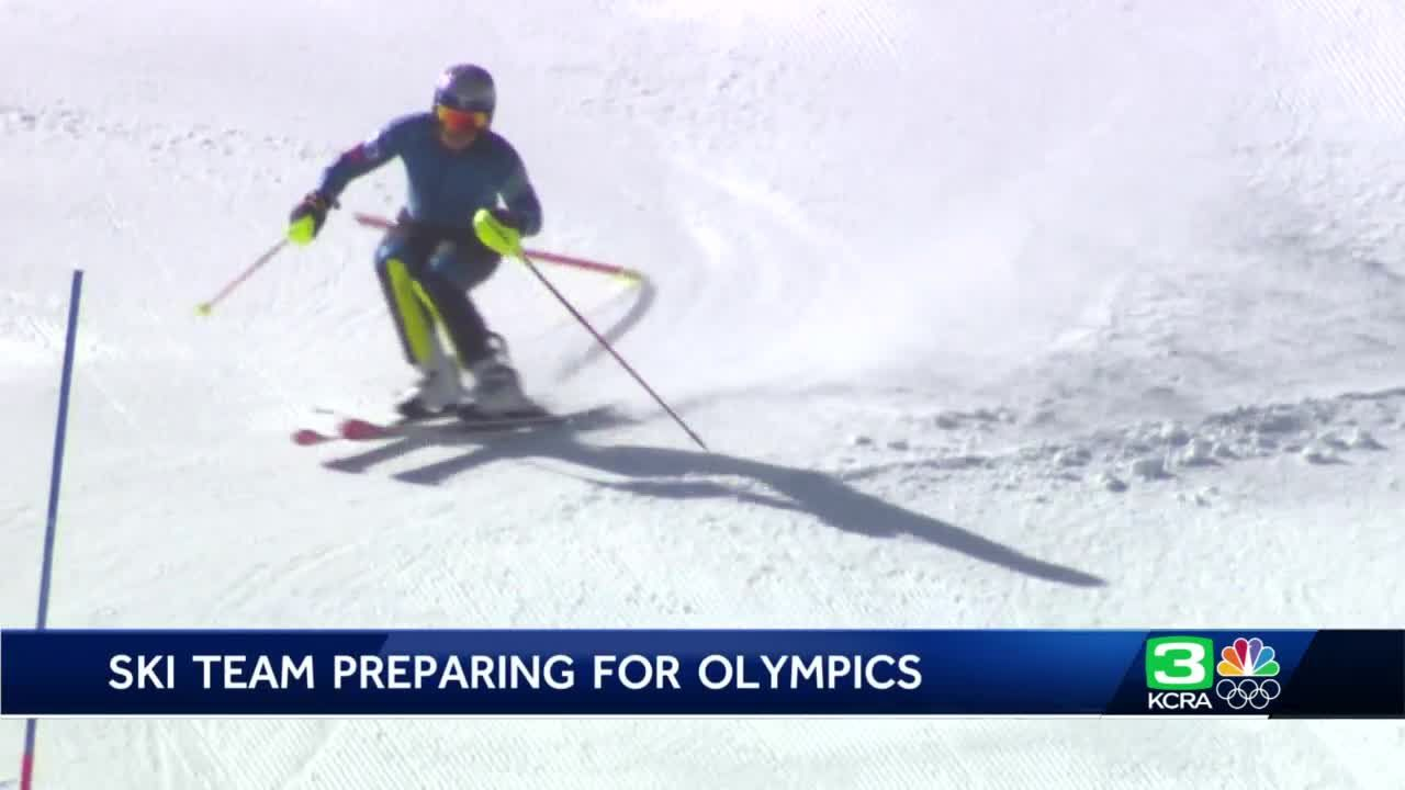 US skiers train at Tahoe resort for 2022 Olympics