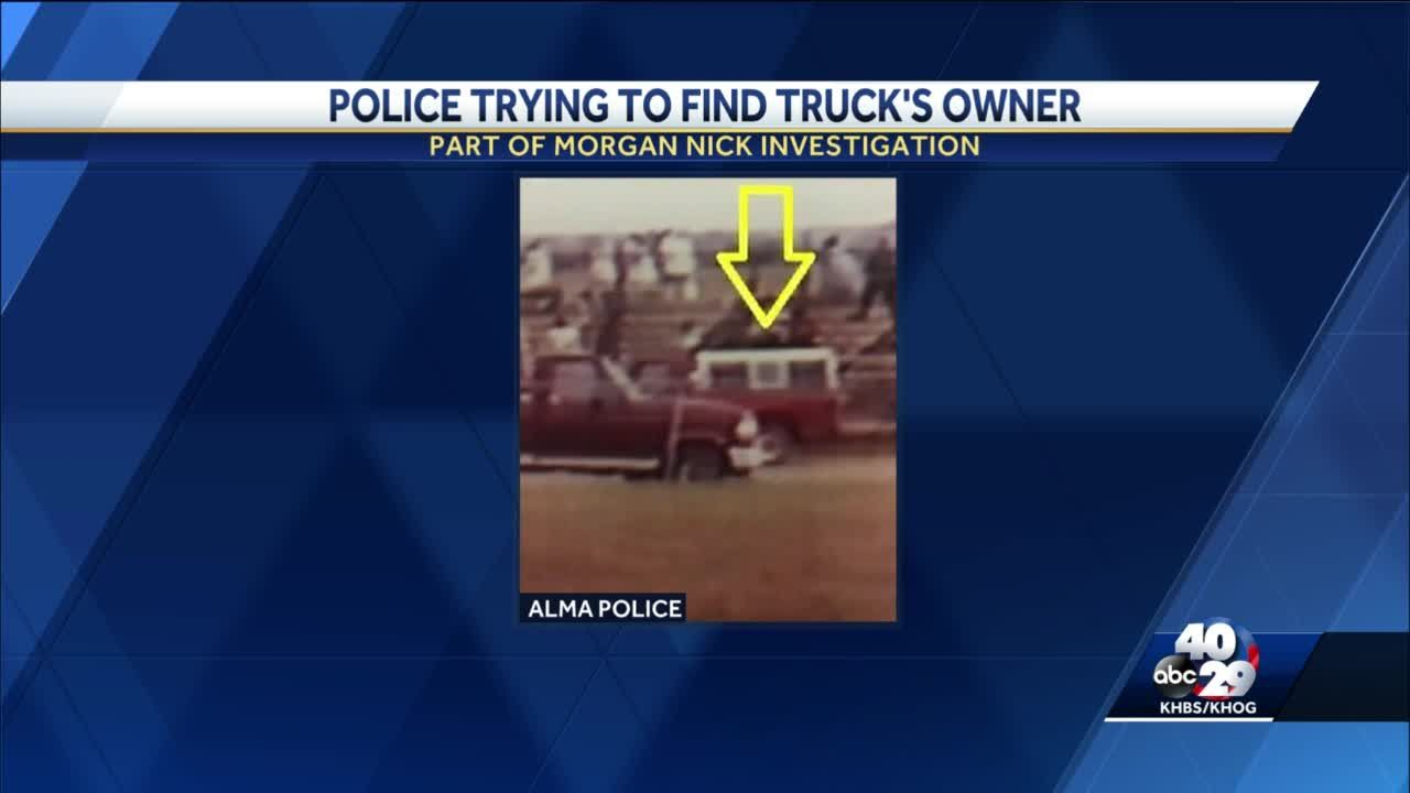 Morgan Nick disappearance investigation photo released