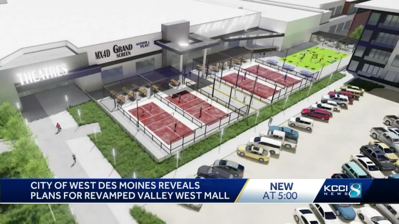 West Des Moines reveals multimillion-dollar plan to revitalize Valley West Mall