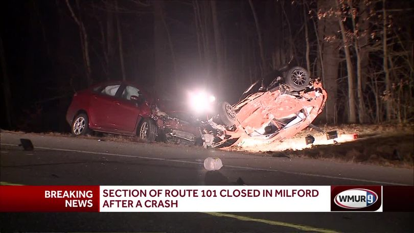 One person killed in crash on Route 101 in Milford