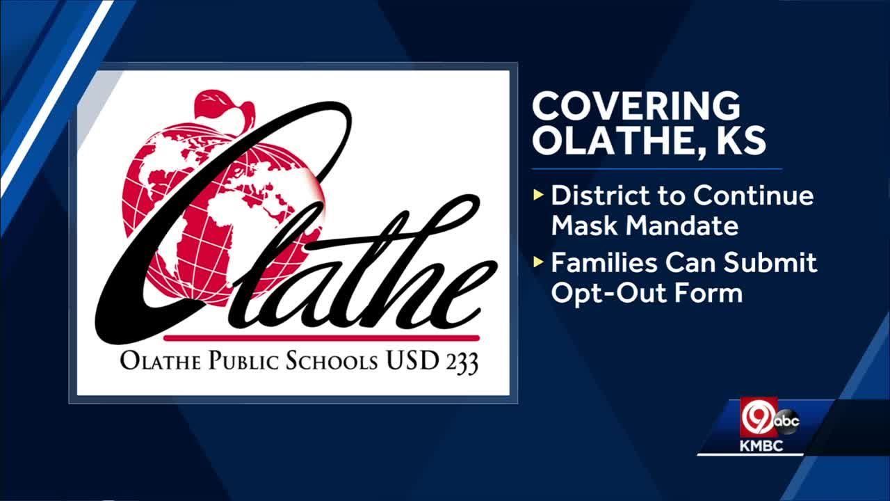 Olathe school board unanimously votes to uphold mask mandate; holds second hearing Monday