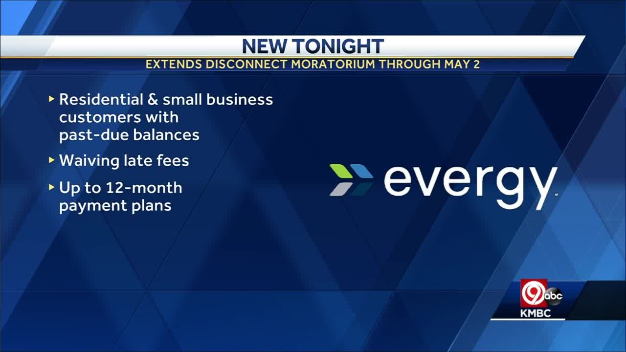 Evergy extends disconnect moratorium through May 2