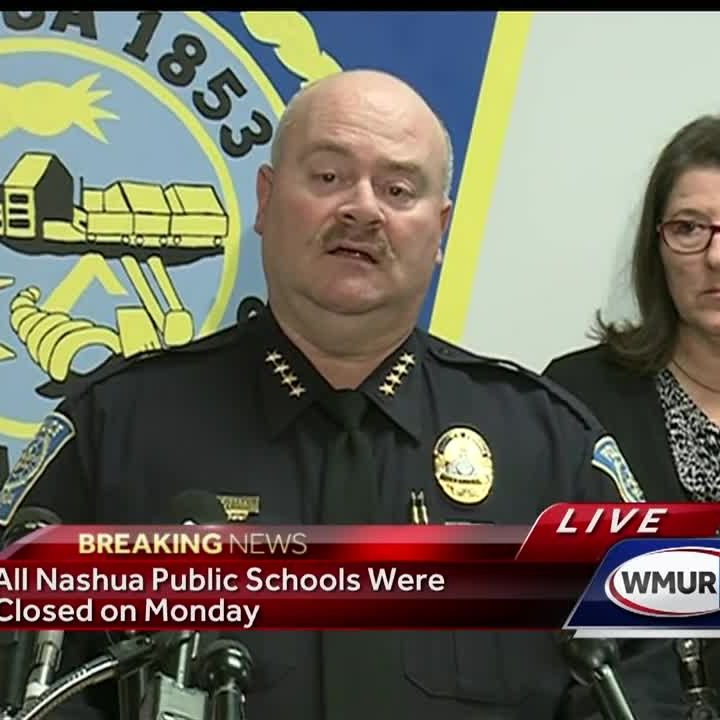 Full video: Nashua school threat news conference