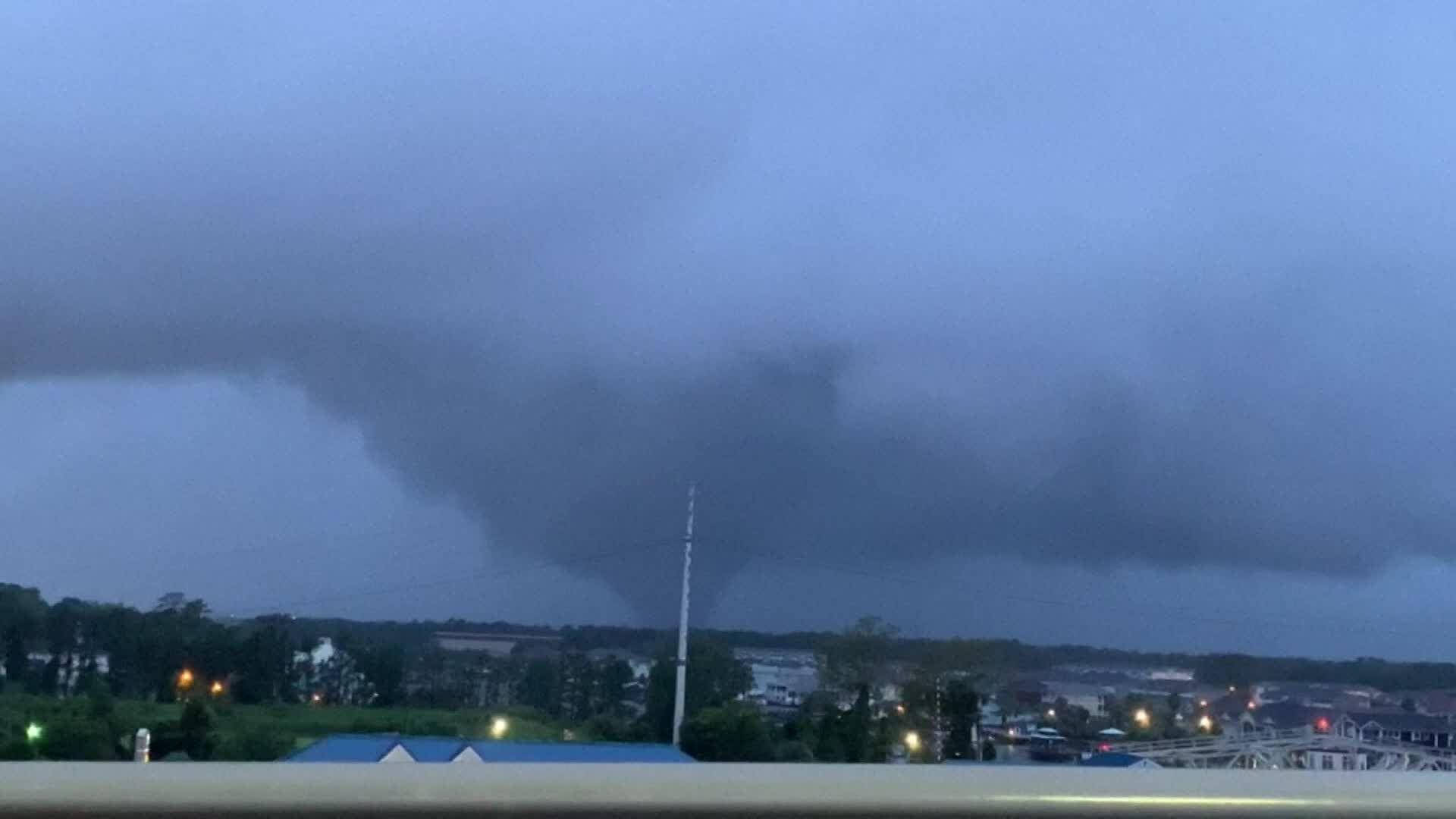 Possible tornado in Myrtle Beach