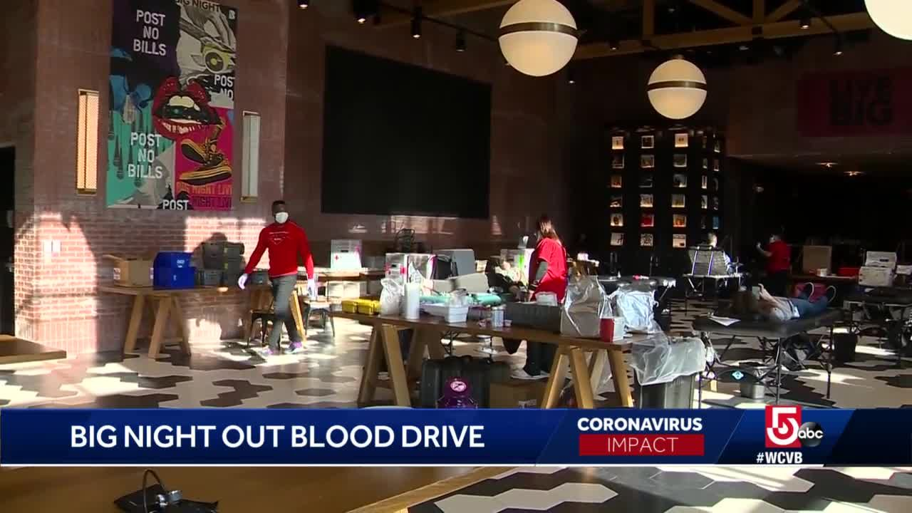 Big Night, Red Cross mark 30th blood drive at TD Garden