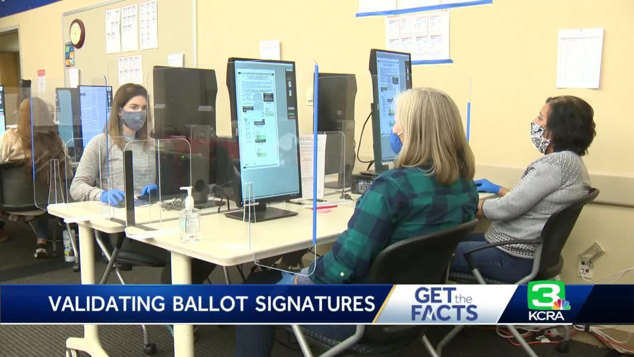 How Sacramento County officials verify signatures on ballots