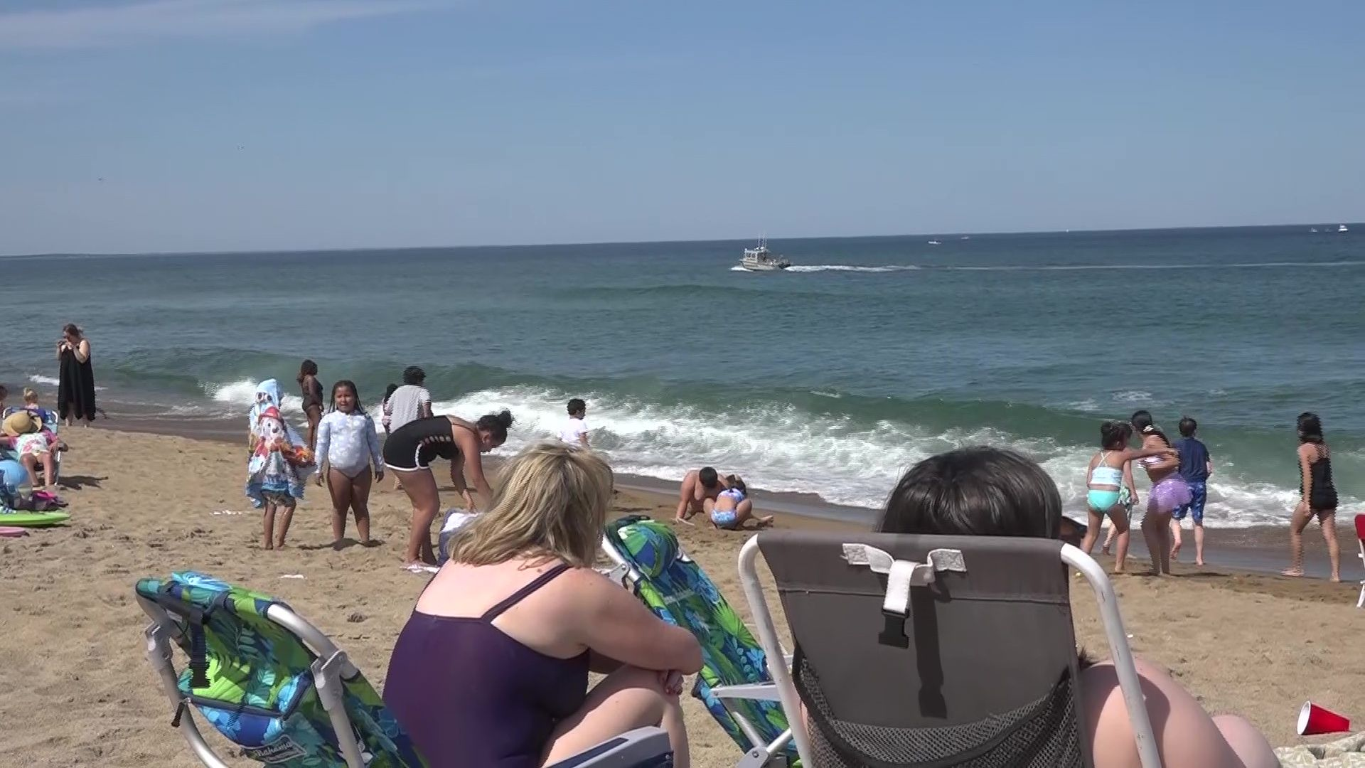 Two teenagers rescued from water off Salisbury Beach