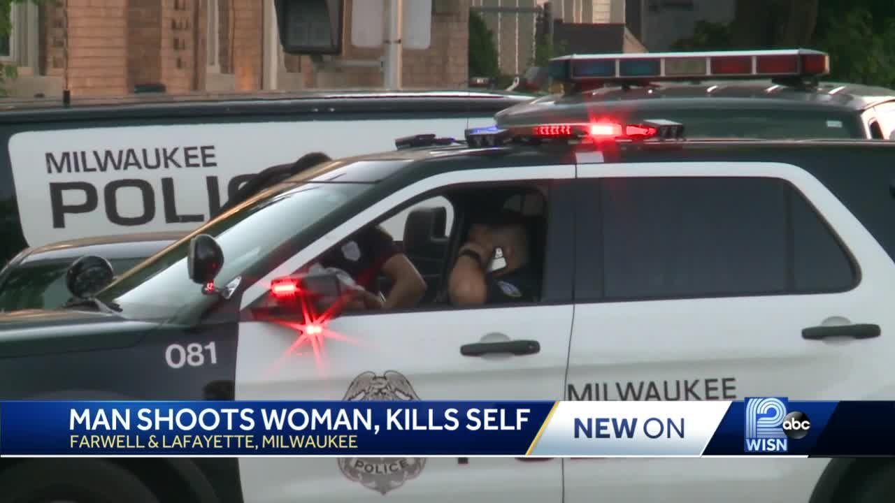 Man shoots woman, kills self