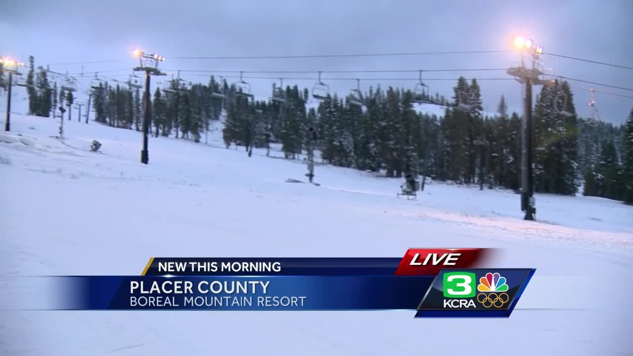 weekend snow brings nice kickoff to boreal opening day
