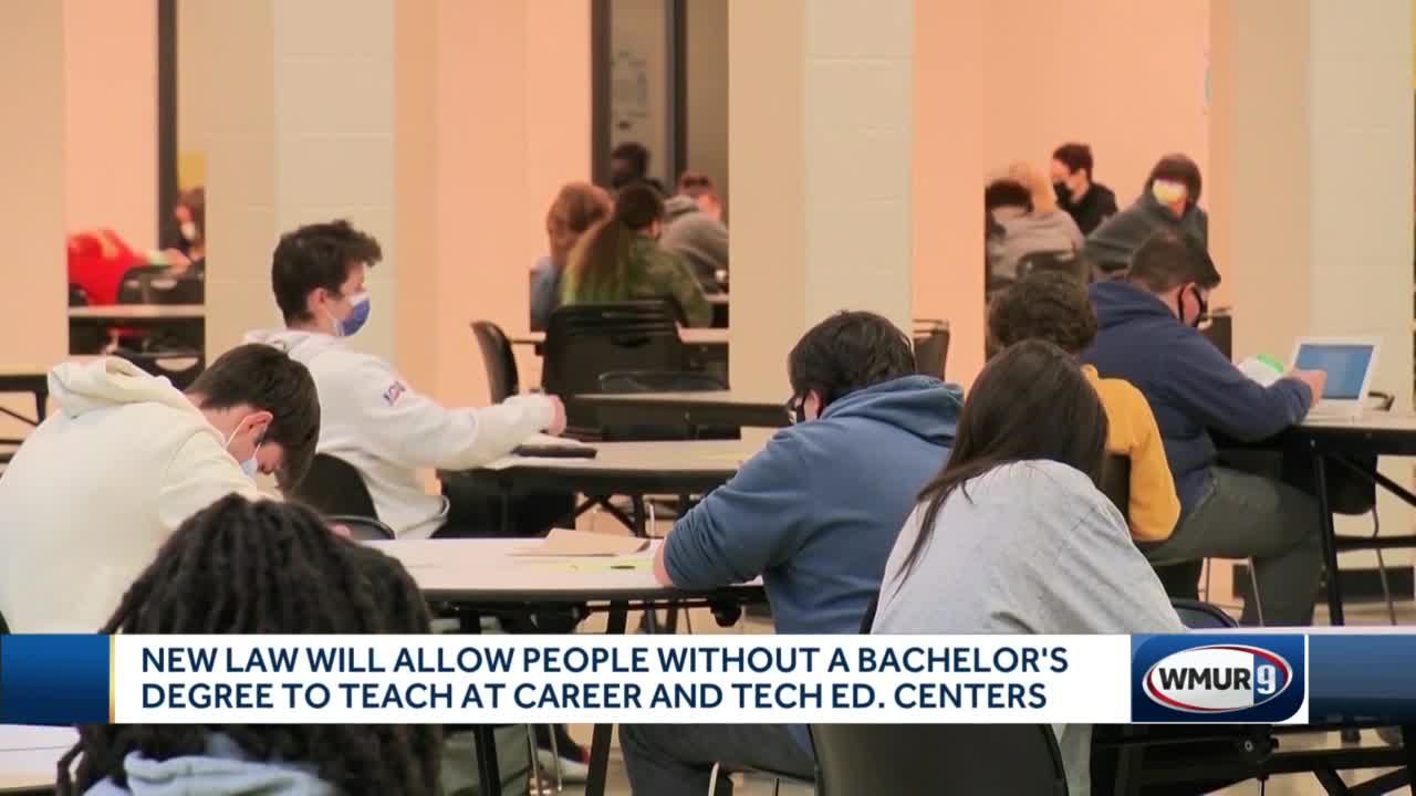 Law will let those without bachelor's degree to teach at some schools