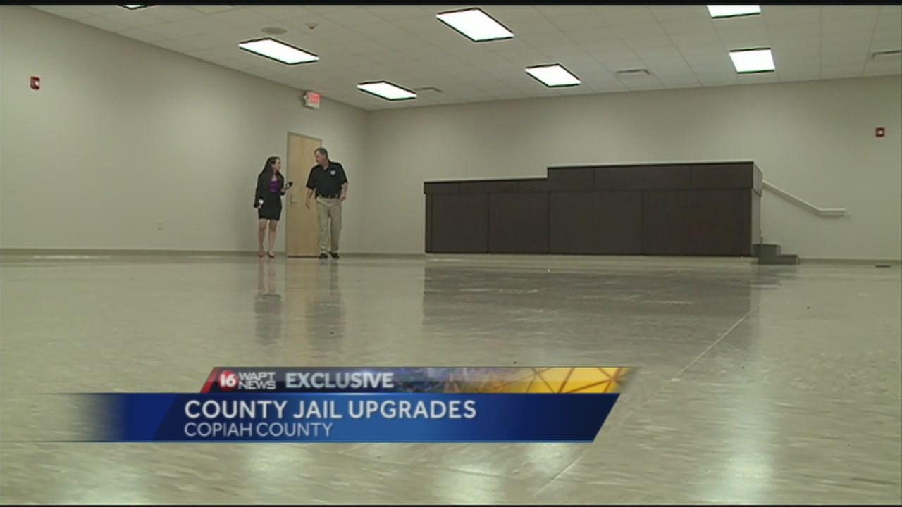 Copiah sheriff shows off new jail