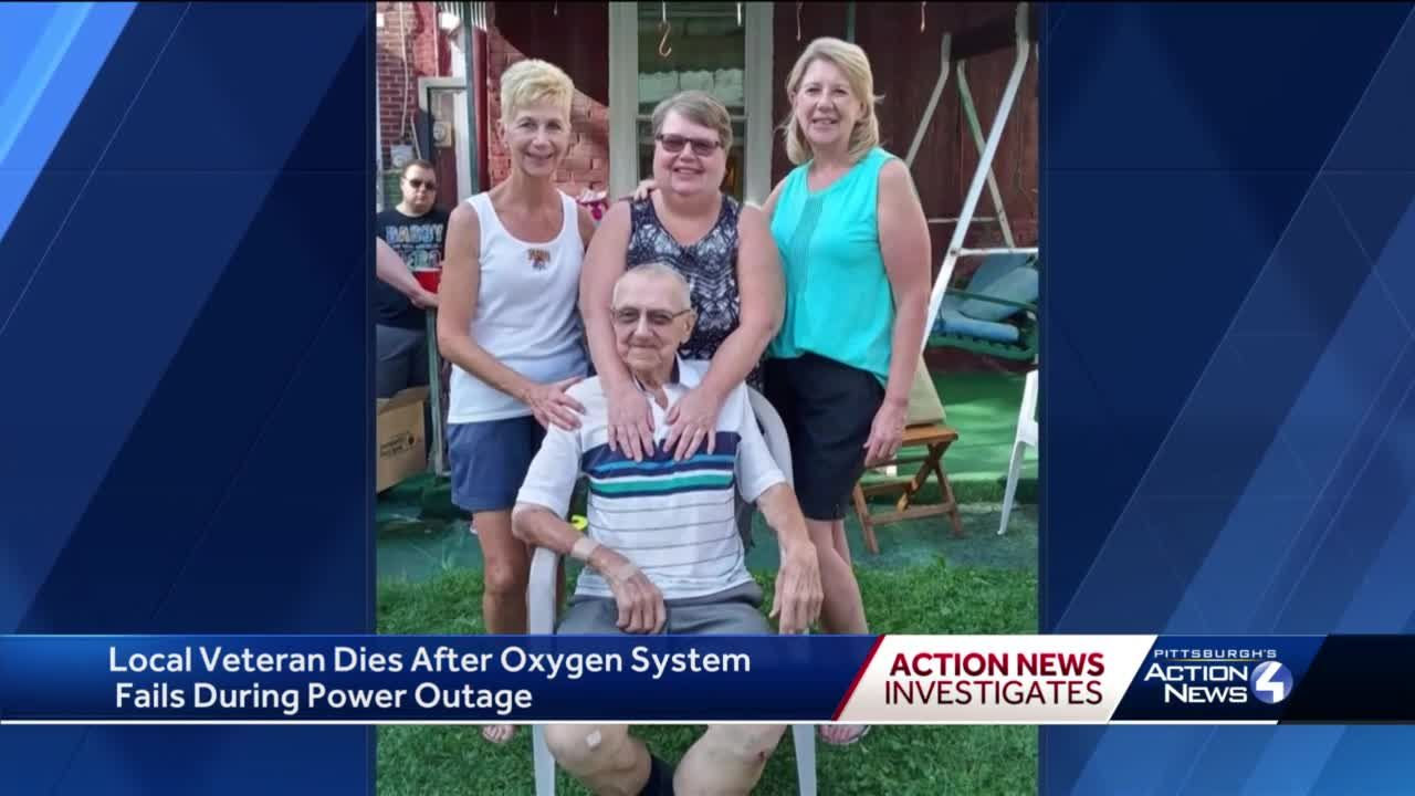 Local veteran dies after oxygen system fails during power outage
