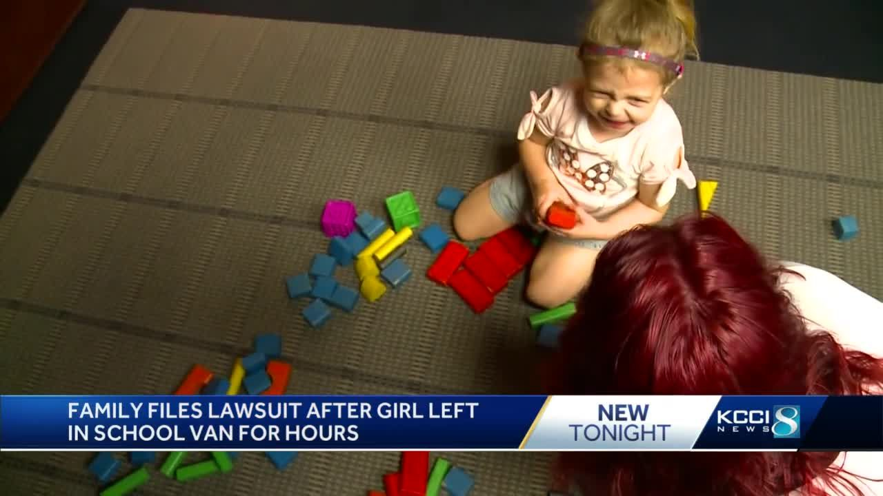 Pella family sues after 3-year-old stranded for hours on bus