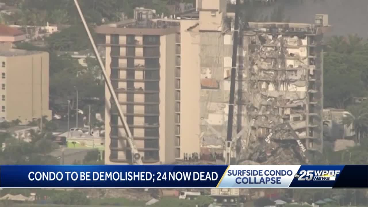 FAU professor, civil engineer weighs in on plans to demolish rest of Champlain Towers South