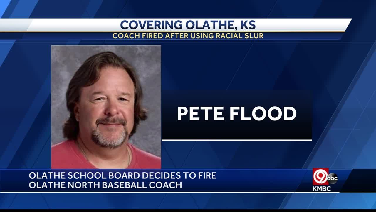 Olathe North High School baseball coach Pete Flood fired for remark to student-athlete
