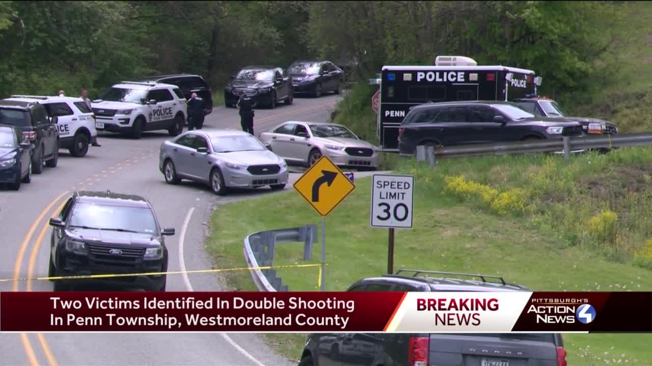 Officials identify two people killed in double homicide in Penn Township, Westmoreland County