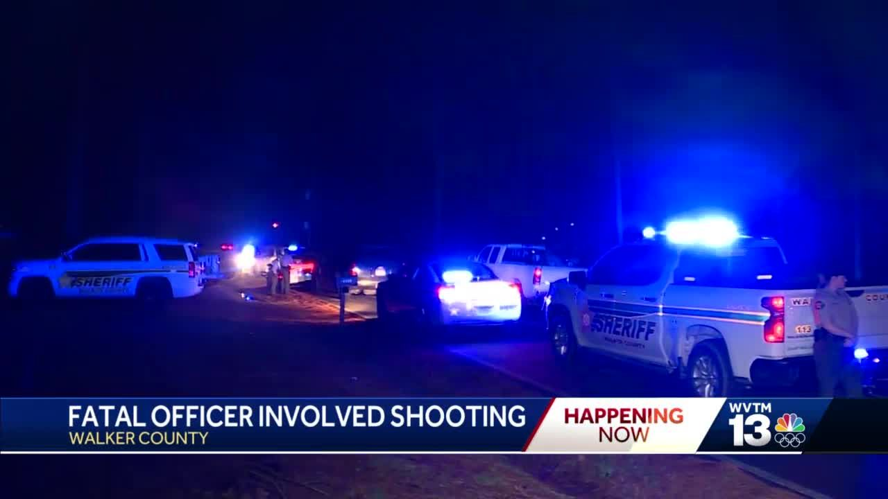 ALEA investigating officer involved shooting in Walker County