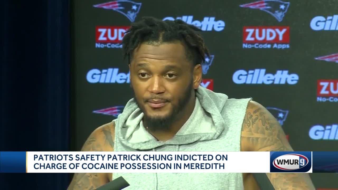 Patriots's Chung indicted on charge of cocaine possession