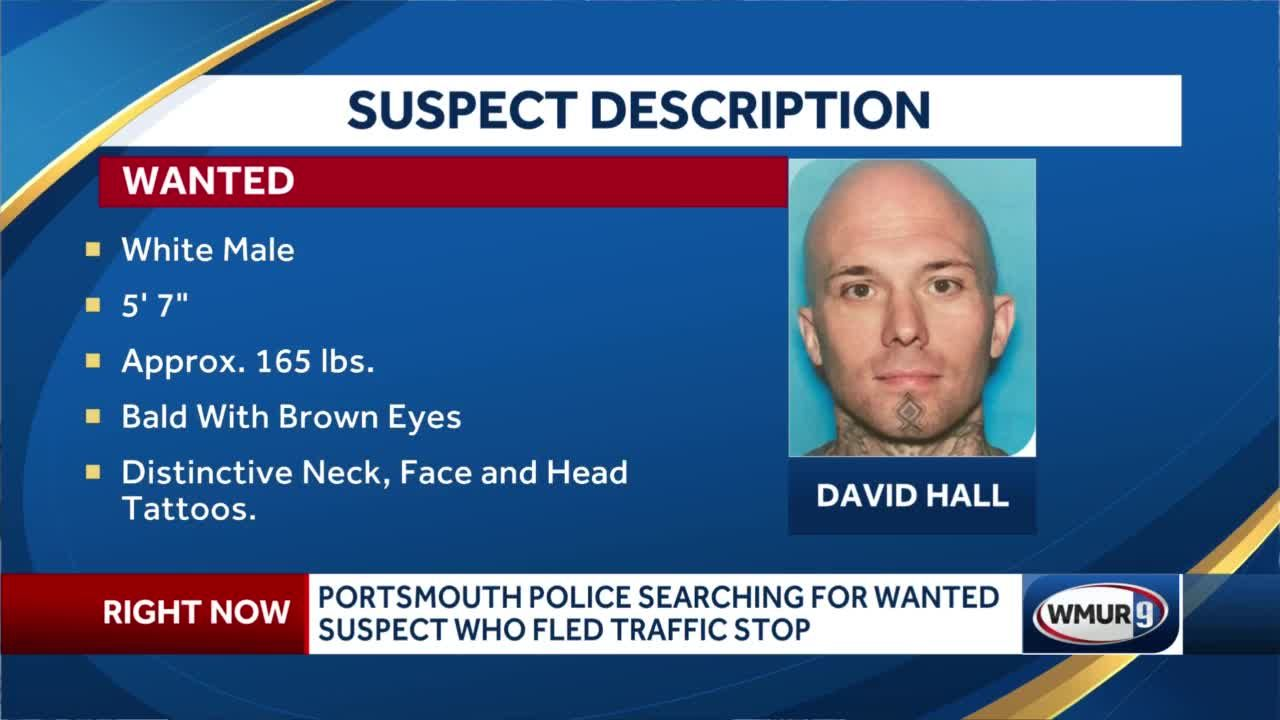 Portsmouth police search for wanted suspect who fled traffic stop