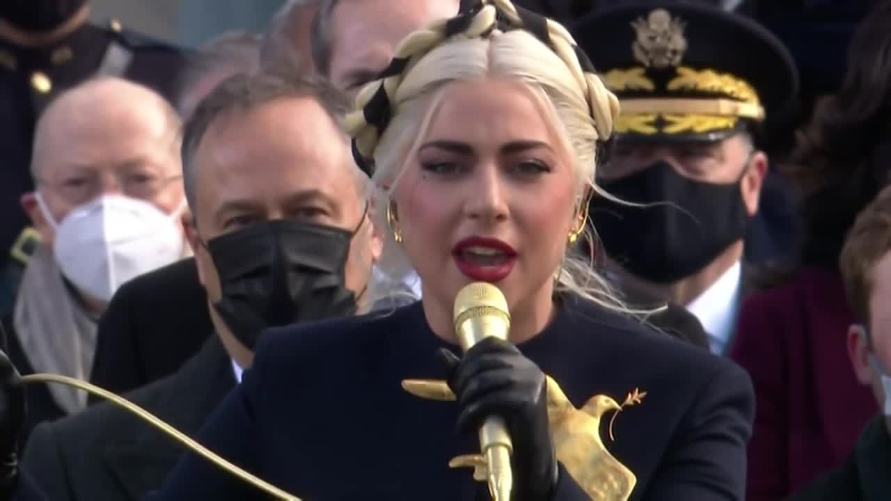 Inauguration 2021: Lady Gaga sings the national anthem