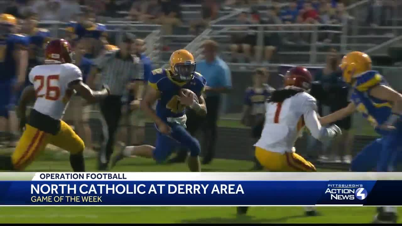 Game Of The Week Highlights Derry Area Shuts Out North Catholic