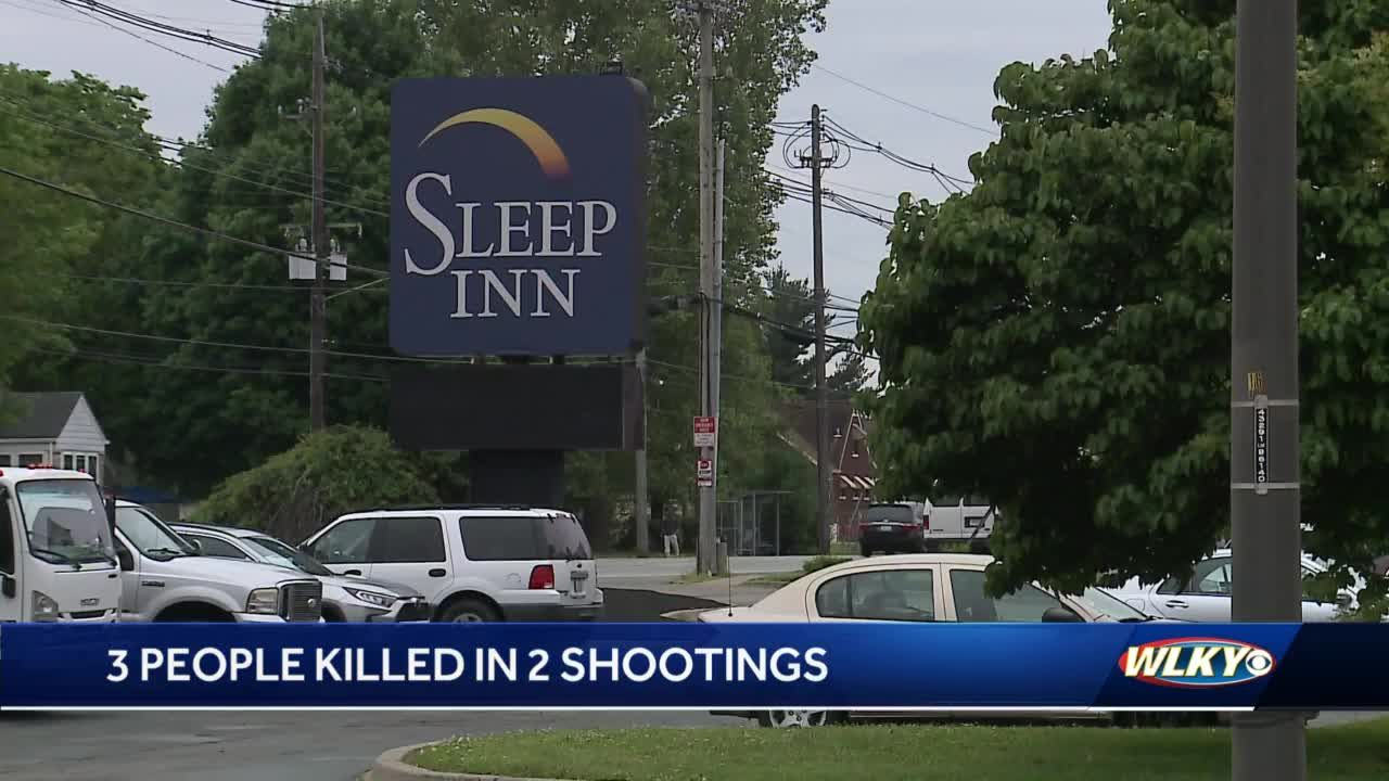 3 killed Sunday in two separate shootings in Louisville
