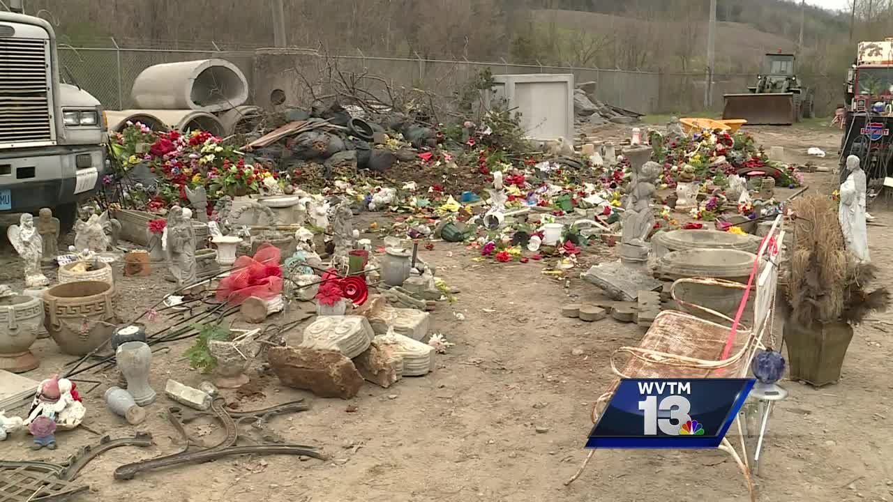 Trashed Families Upset After Finding Cemetery Decorations Thrown