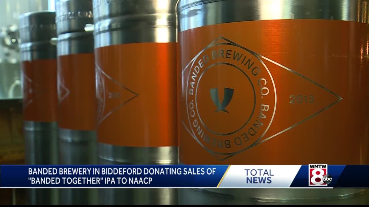 Biddeford Brewery Donating Beer Sales To Naacp