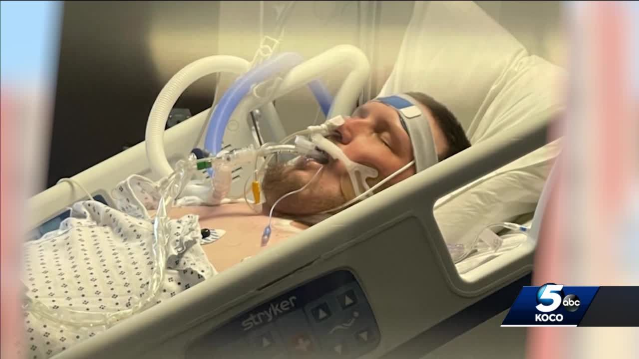 OKC man who didn't believe in vaccine fighting for his life with COVID-19-induced pneumonia