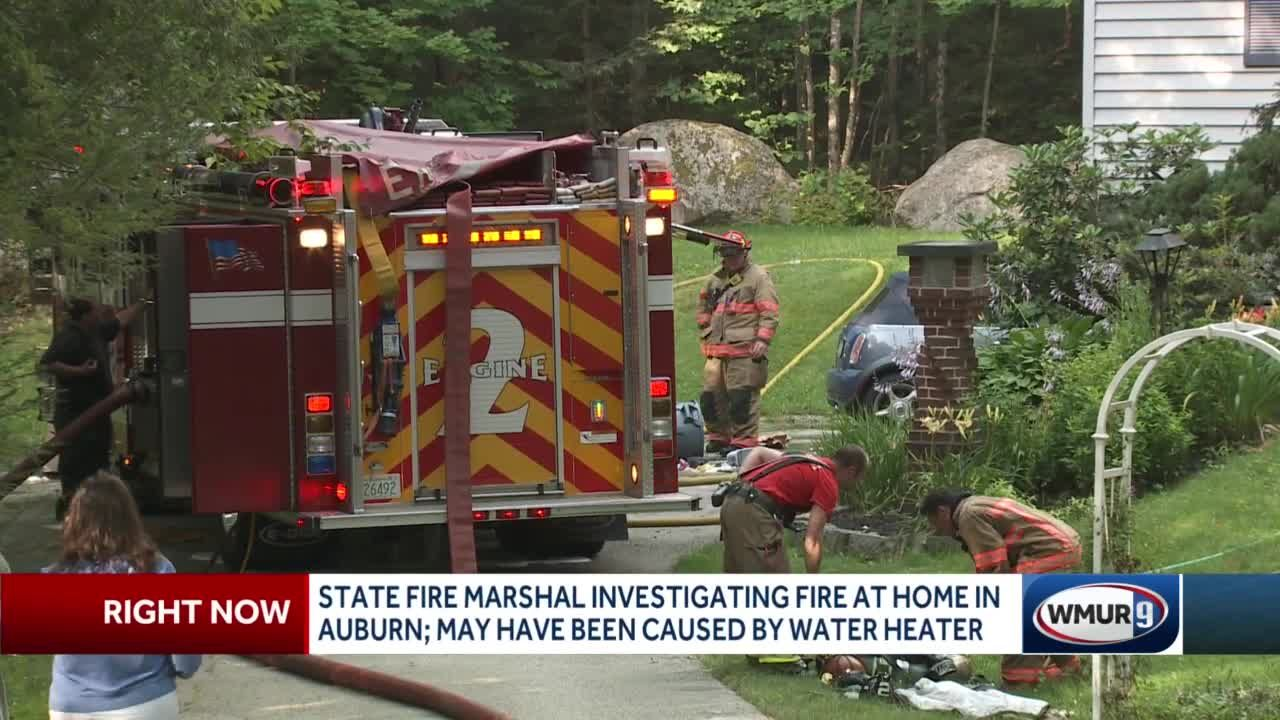 House fire in Auburn might have been started by exploding water heater