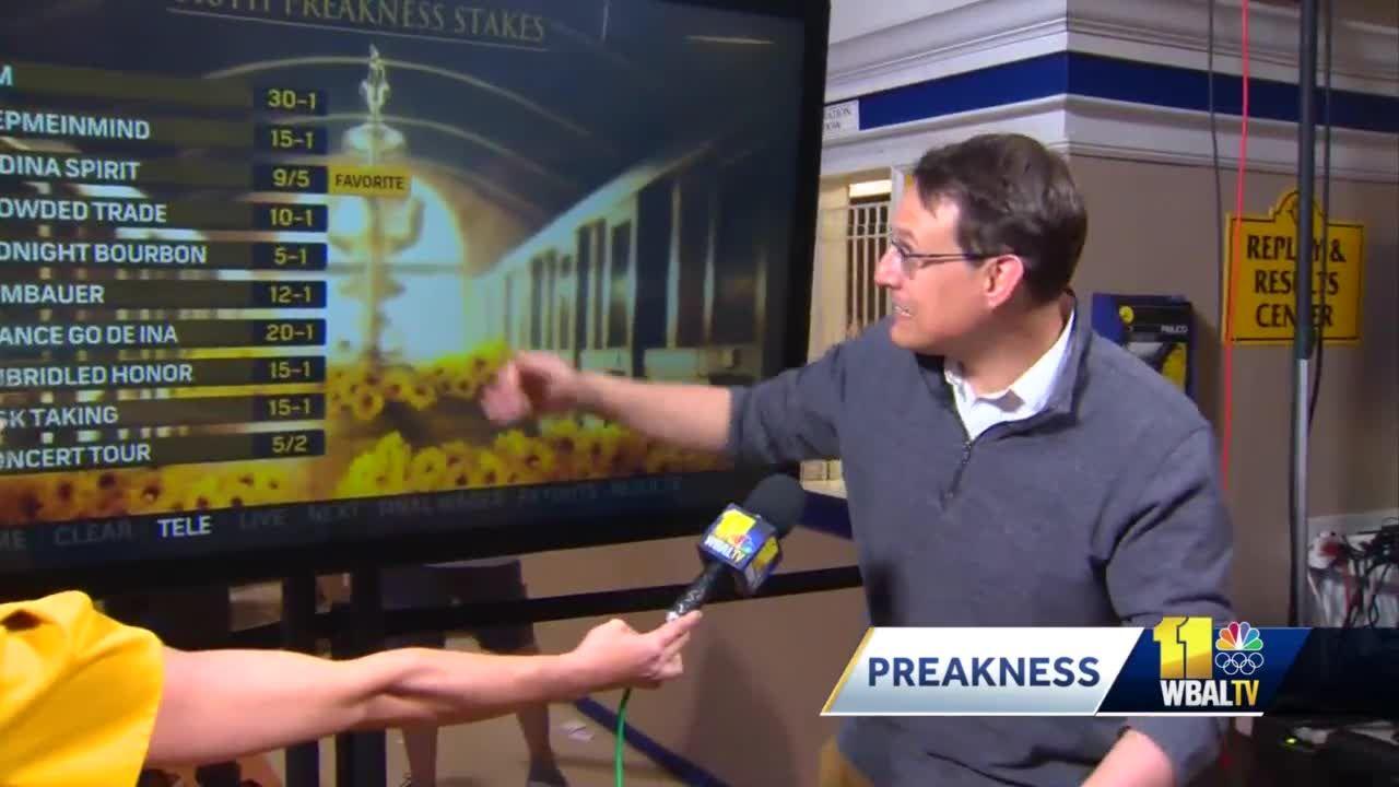 Steve Kornacki breaks down the odds in the 146th Preakness